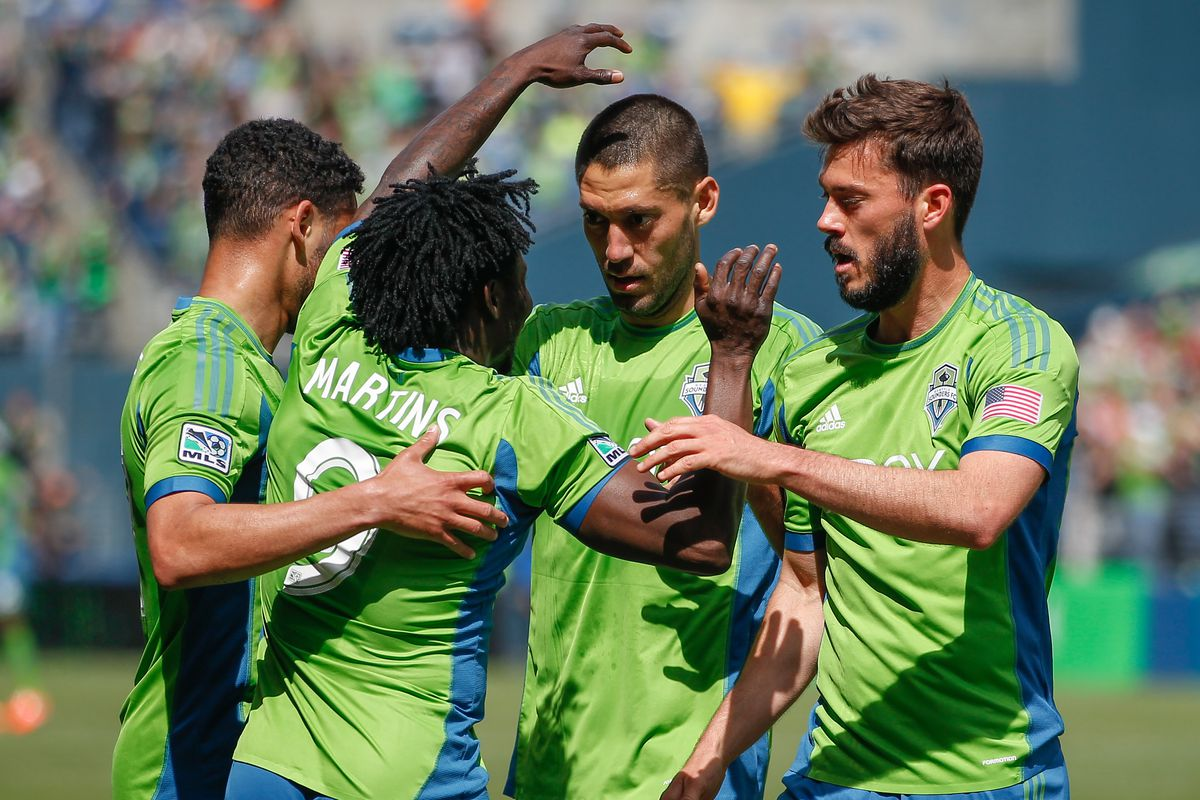 Sounders are flying high this week, especially Dempsey, Martins and Neagle