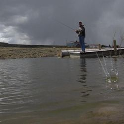 Andy Johnson has been fighting the Environmental Protection Agency for close to five years all because of a pond he built on his Wyoming property. On Monday, May 9, 2016, the EPA settled.  Johnson agreed to some stipulations, but he gets to keep his pond and dam. In Fort Bridge, Wyoming, on Tuesday, May 10, 2016.