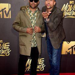 Jordan Peele and Keegan-Michael Key, aka Key & Peele, went casual.