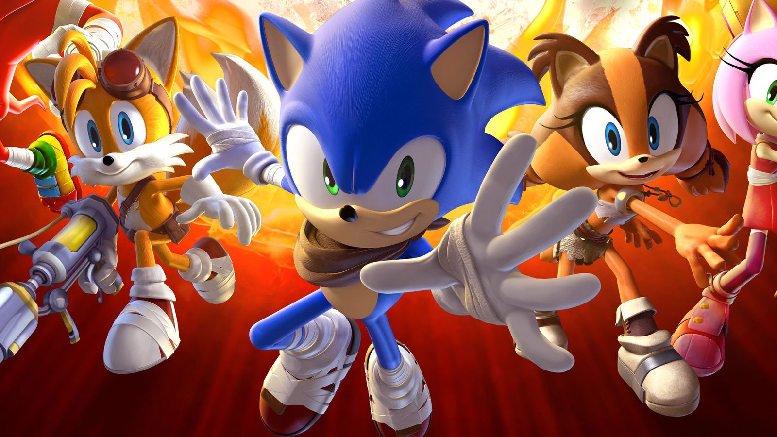 Sonic Boom: Fire and Ice coming to Nintendo 3DS this fall