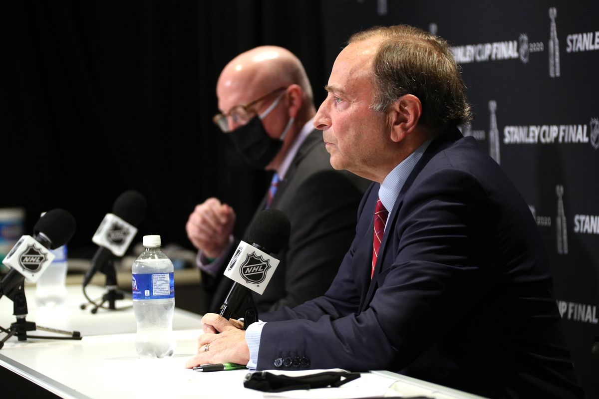 2020 NHL Stanley Cup Final - Commissioner Gary Bettman Press Conference