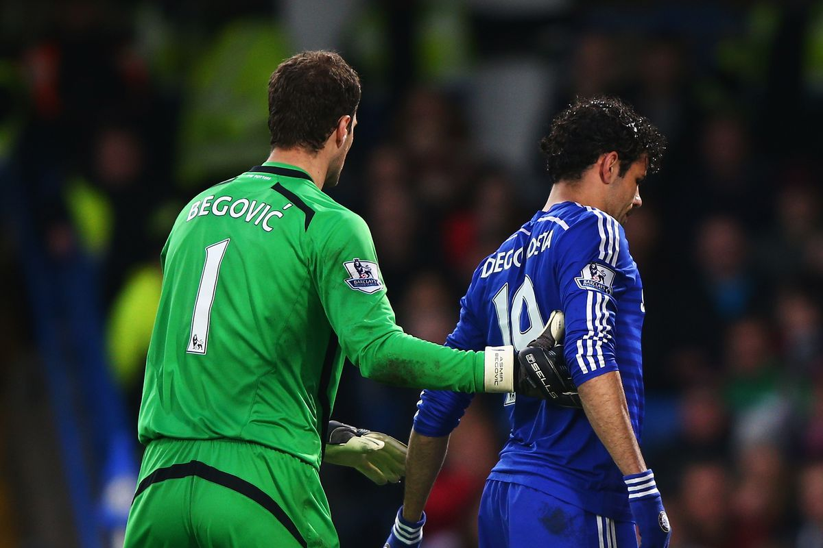 Asmir Begovic urges Chelsea to reconcile with Diego Costa We Ain