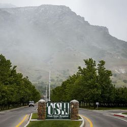 The Utah State Hospital grounds in Provo are pictured on Wednesday, May 17, 2017.