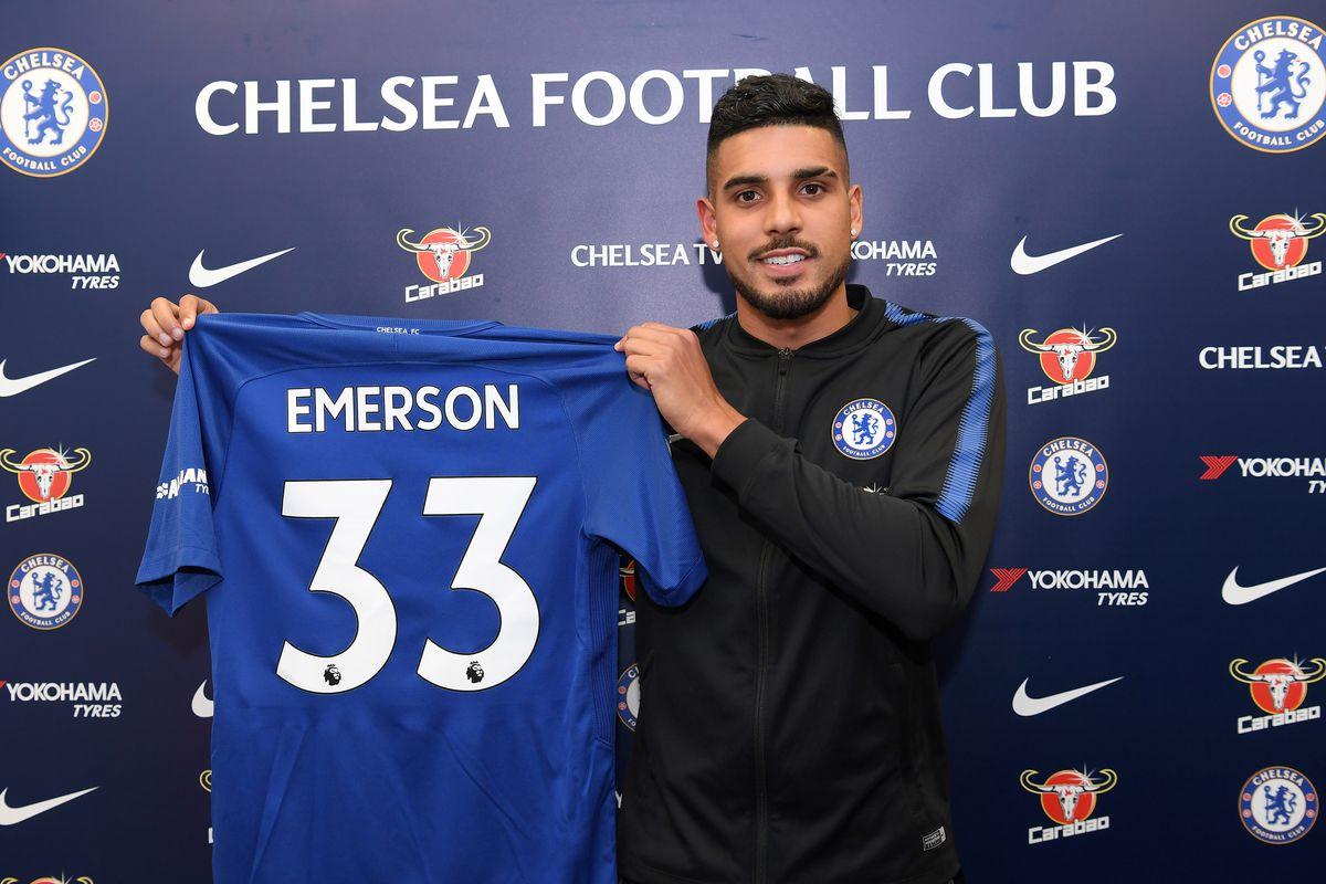 Chelsea Unveil New Signing Emerson Palmieri