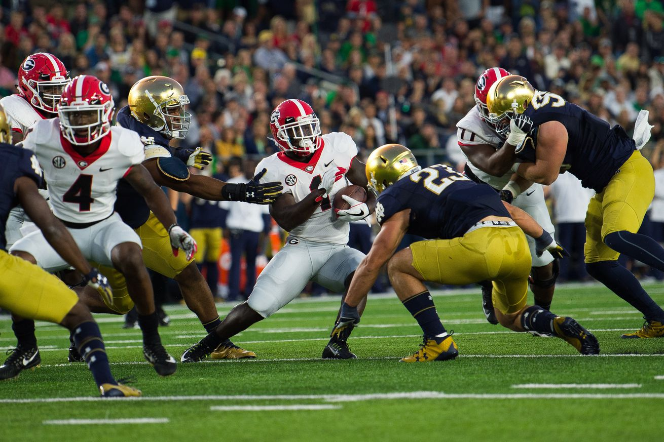 The only way Notre Dame will beat the Georgia Bulldogs in 2019