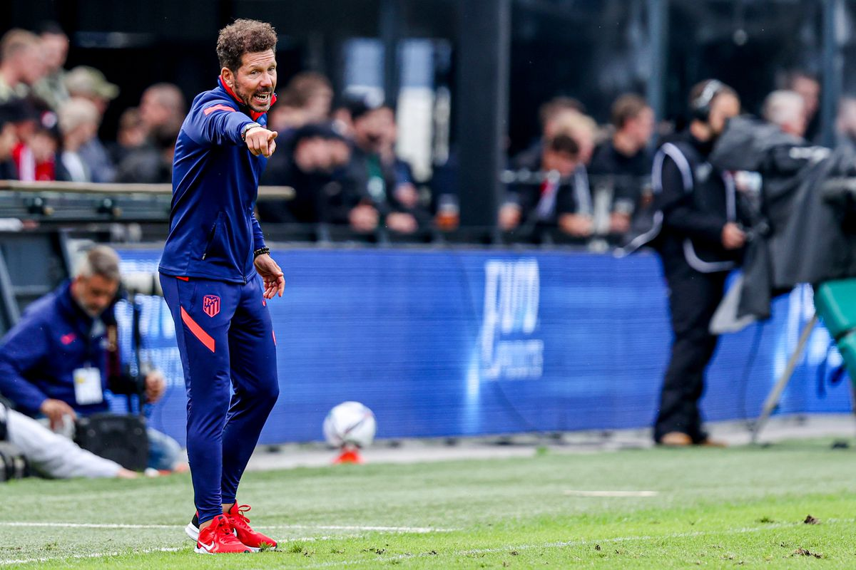 20210808 Feyenoord v Atletico Madrid - Preseason Friendly Match