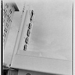 Seven Seas Restaurant  - Courtesy of Library of Congress Prints - Photographer: Gottscho-Schleisner, Inc.