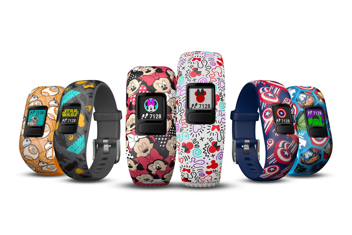 Garmin Waterproof Fitness Tracker >> Garmin made Star Wars and Marvel fitness trackers for kids - The Verge