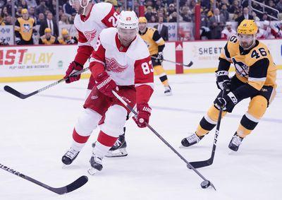 NHL: DEC 27 Red Wings at Penguins