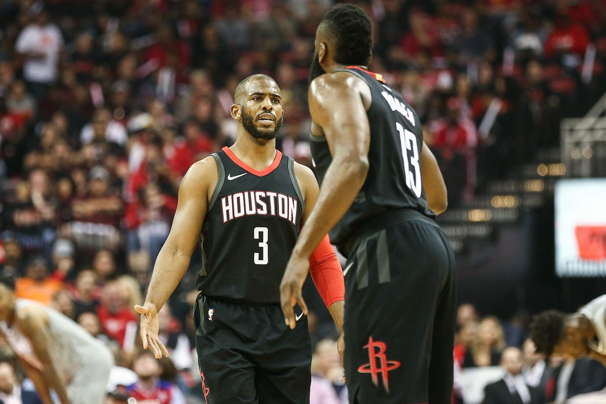 What Does Chris Pauls Game  No Show Mean For The Rockets The Dream Shake