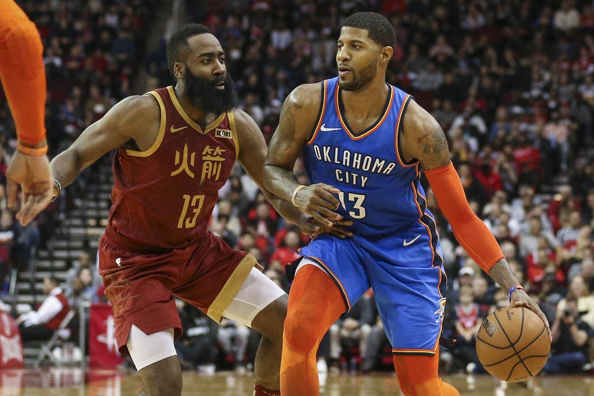 NBA: Oklahoma City Thunder at Houston Rockets