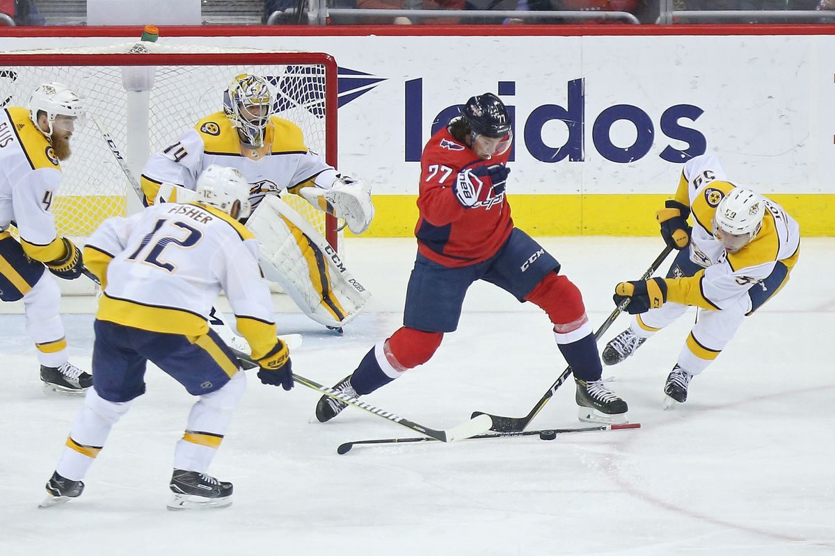 Nashville Predators Vs Washington Capitals Preview Break The Losing Streak On The Forecheck
