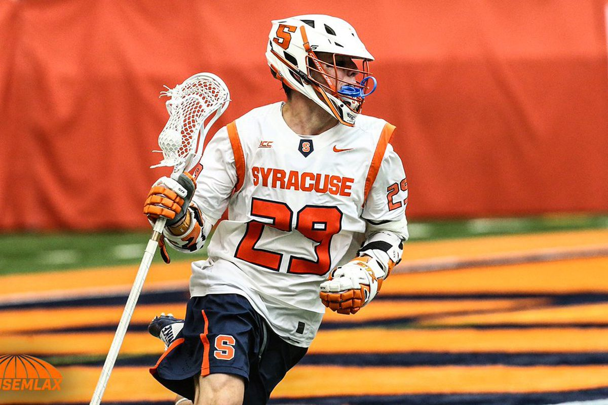 syracuse lacrosse: the 'cuse land in the eighth seed - troy nunes is