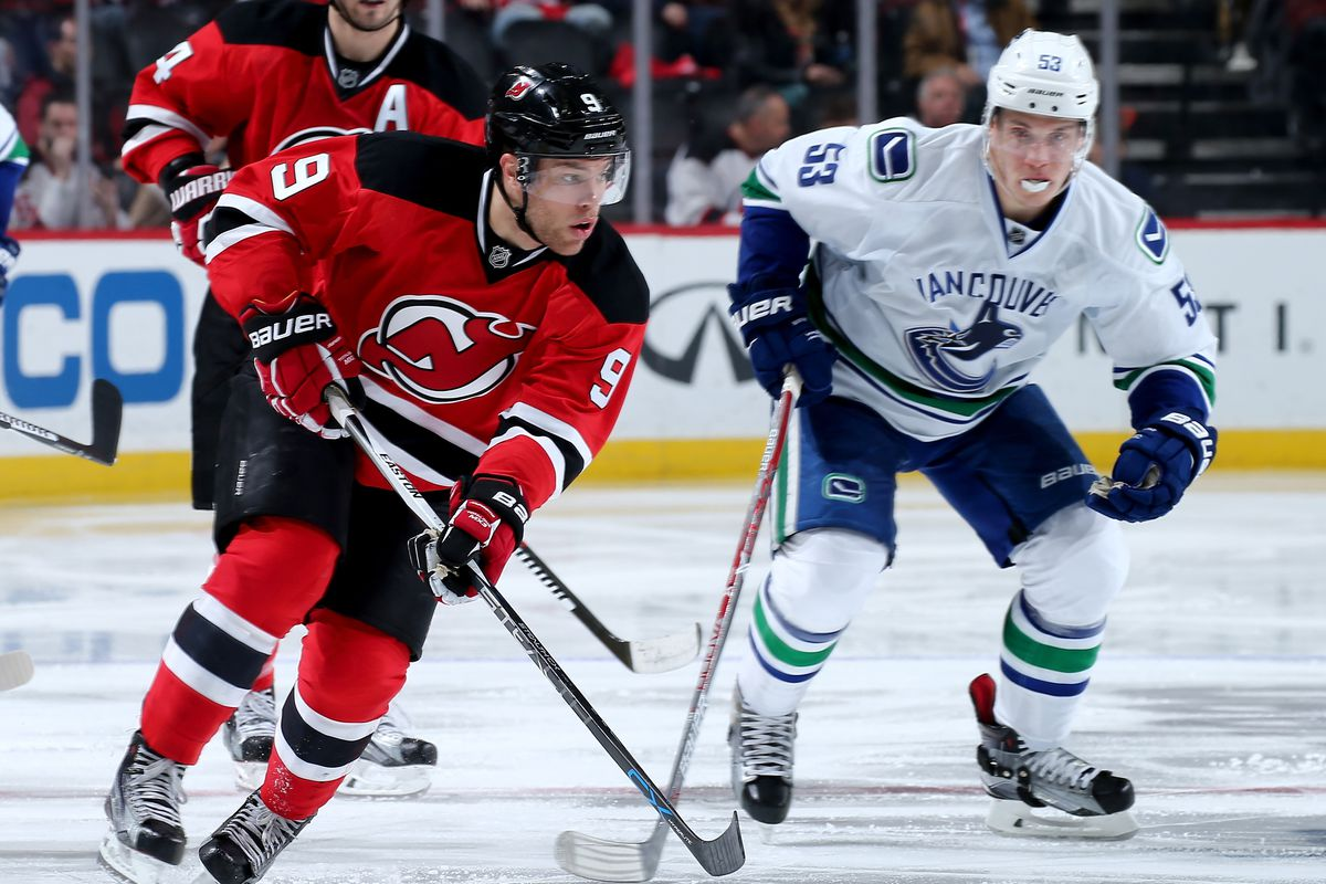 Game Preview 45 New Jersey Devils At Vancouver Canucks All About The Jersey