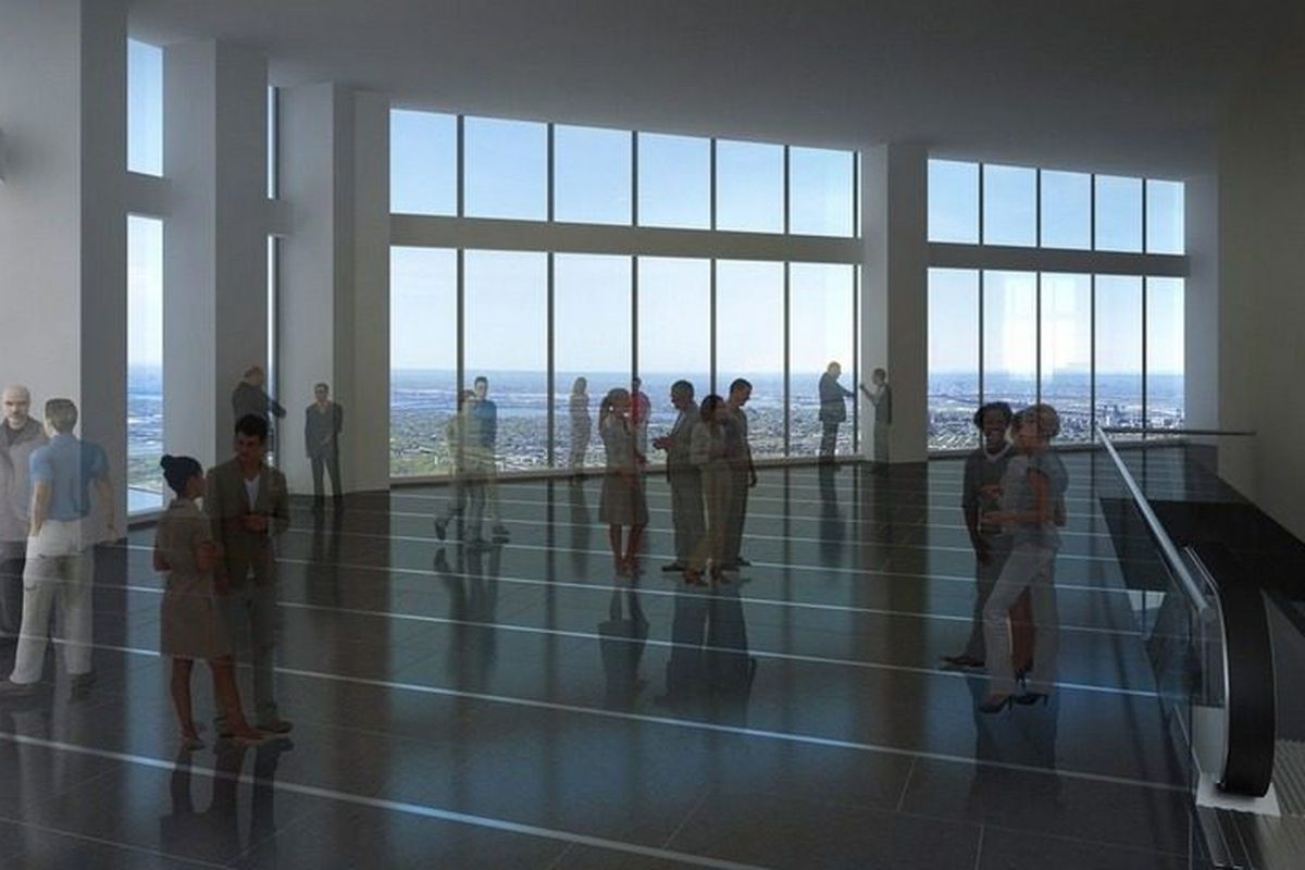 One World Observatory Elevators Unveil 515 Year Time Lapse