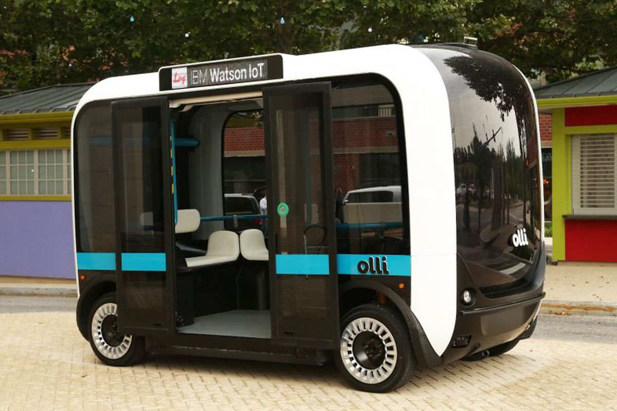 can self driving technology save the bus curbed