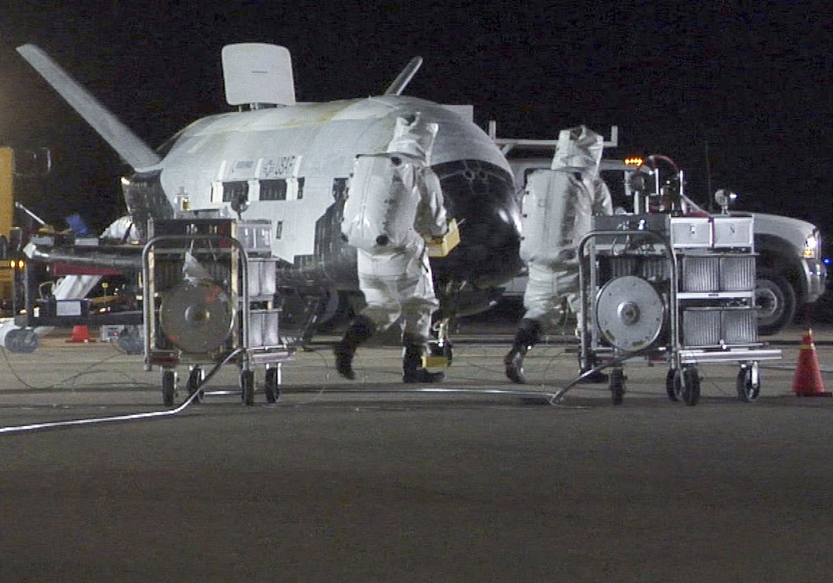 X-37B Orbital Test Vehicle 1