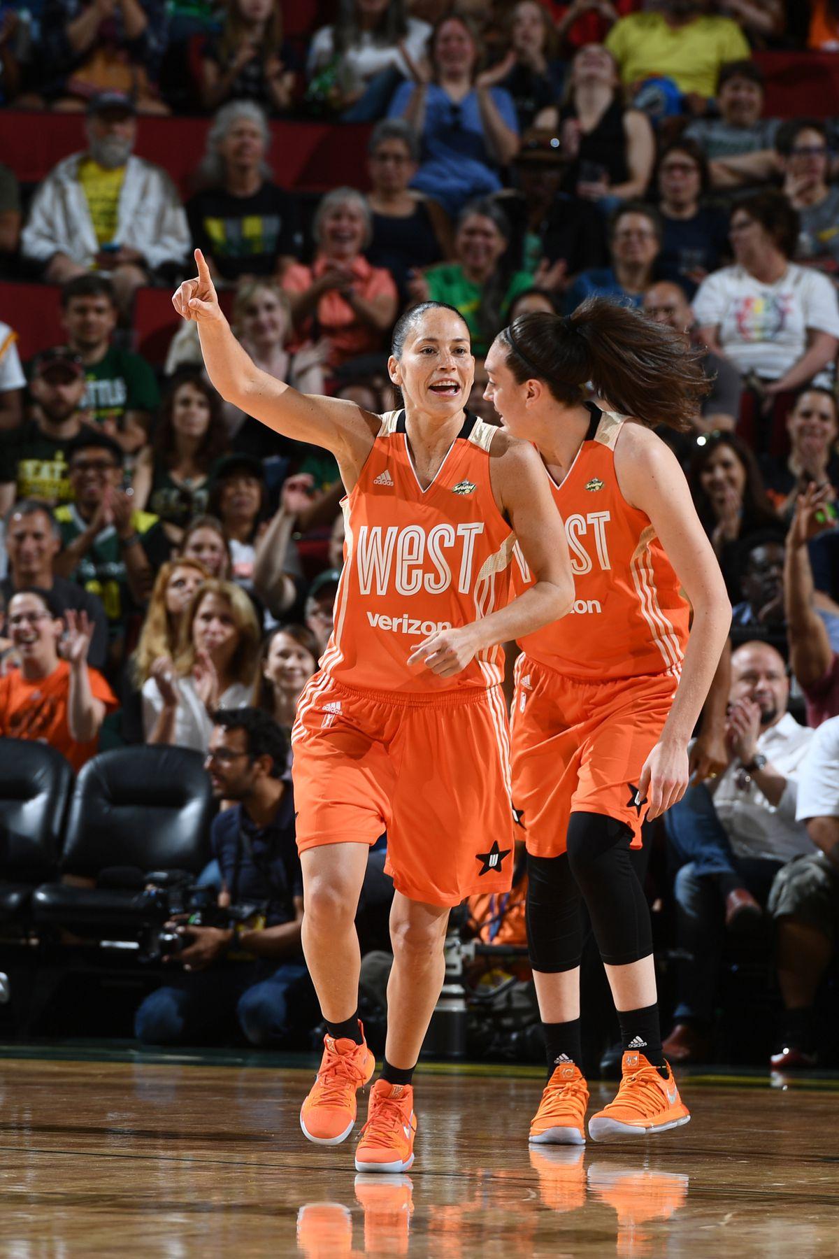 WNBA All-Star Game, Sue Bird