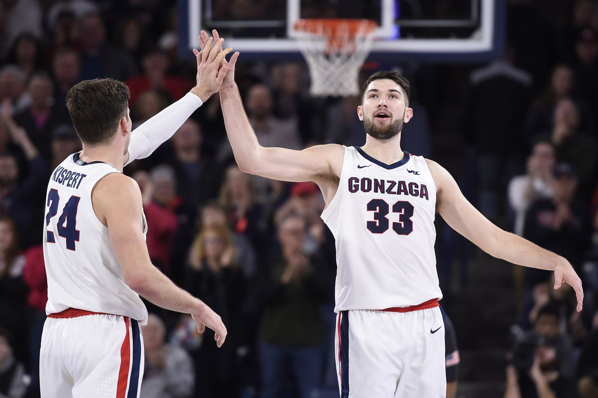 College Basketball Rankings Despite Shaky Week Gonzaga