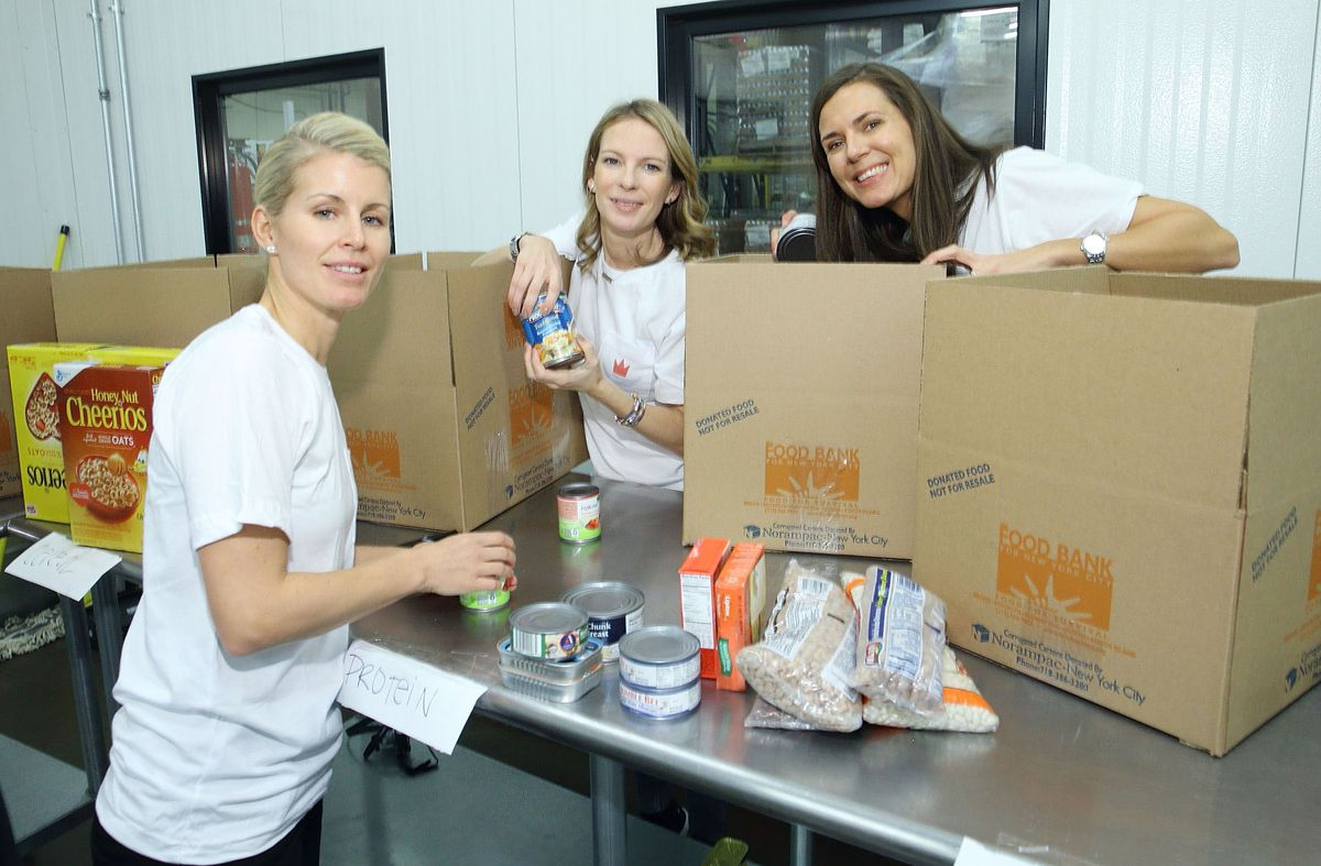 2016 Henrik Lundqvist Foundation Food Bank For New York City Repack Day Challenge