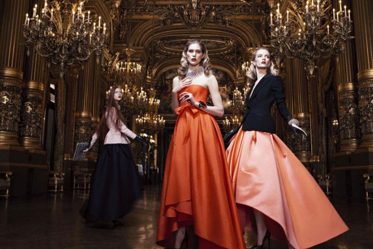 "Image via <a href=""http://fashiongonerogue.com/dior-fall-2013-campaign-willy-vandeperre-daria-strokous-iselin-steiro/"">Fashion Gone Rogue</a>"