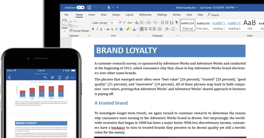 Microsoft Word is getting text predictions in March - The Verge
