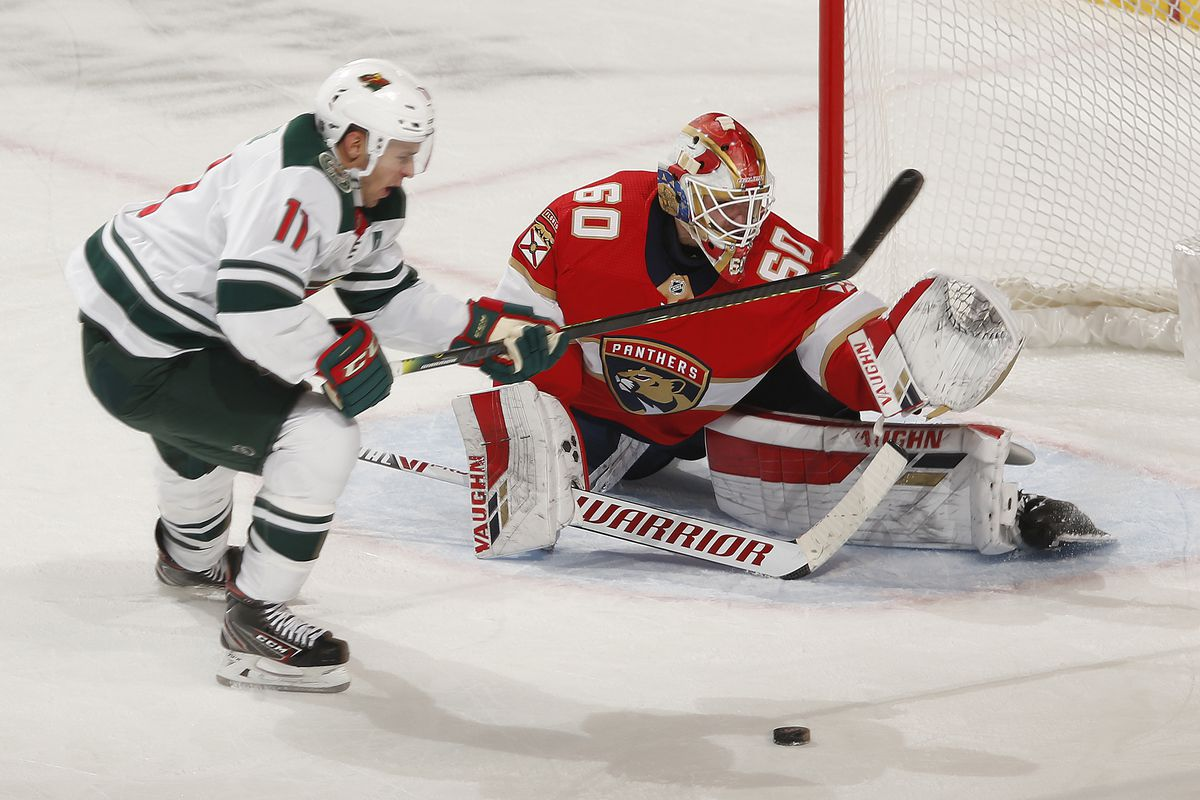NHL: DEC 03 Wild at Panthers