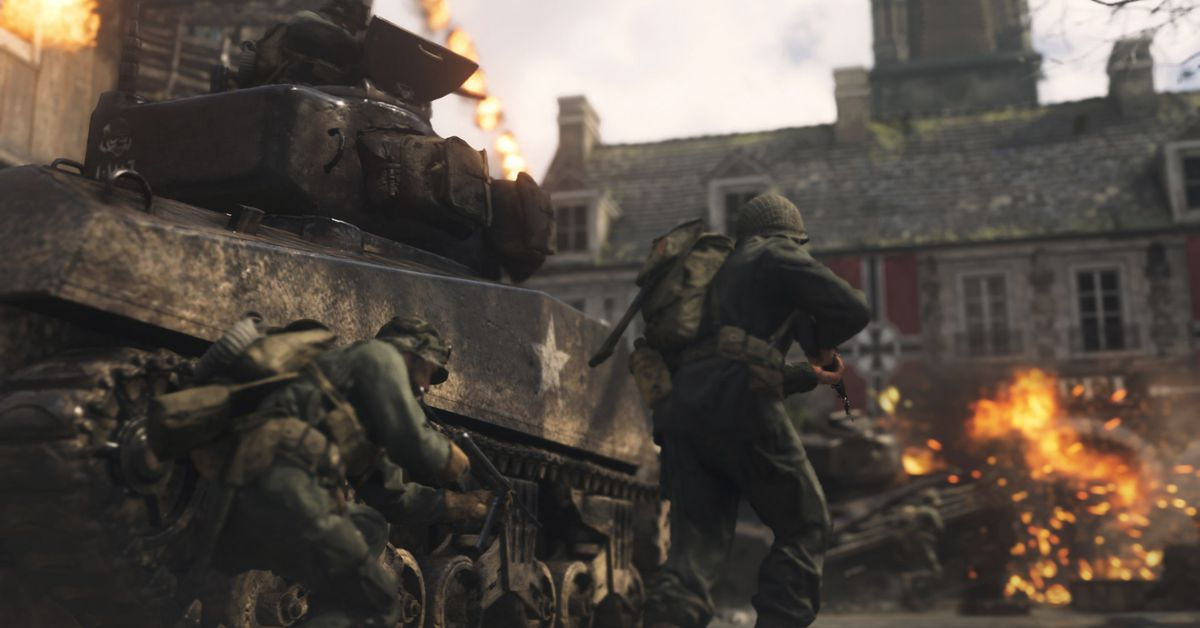 Call of Duty: WWII's dedicated servers are back online