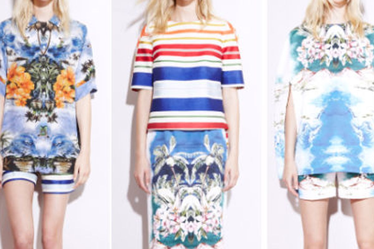 """Stella McCartney's resort 2012 collection, images via <a href=""""http://www.vogue.com/collections/resort-2012/stella-mccartney/review/#/collection/runway/resort-2012/stella-mccartney/"""">Vogue</a>"""