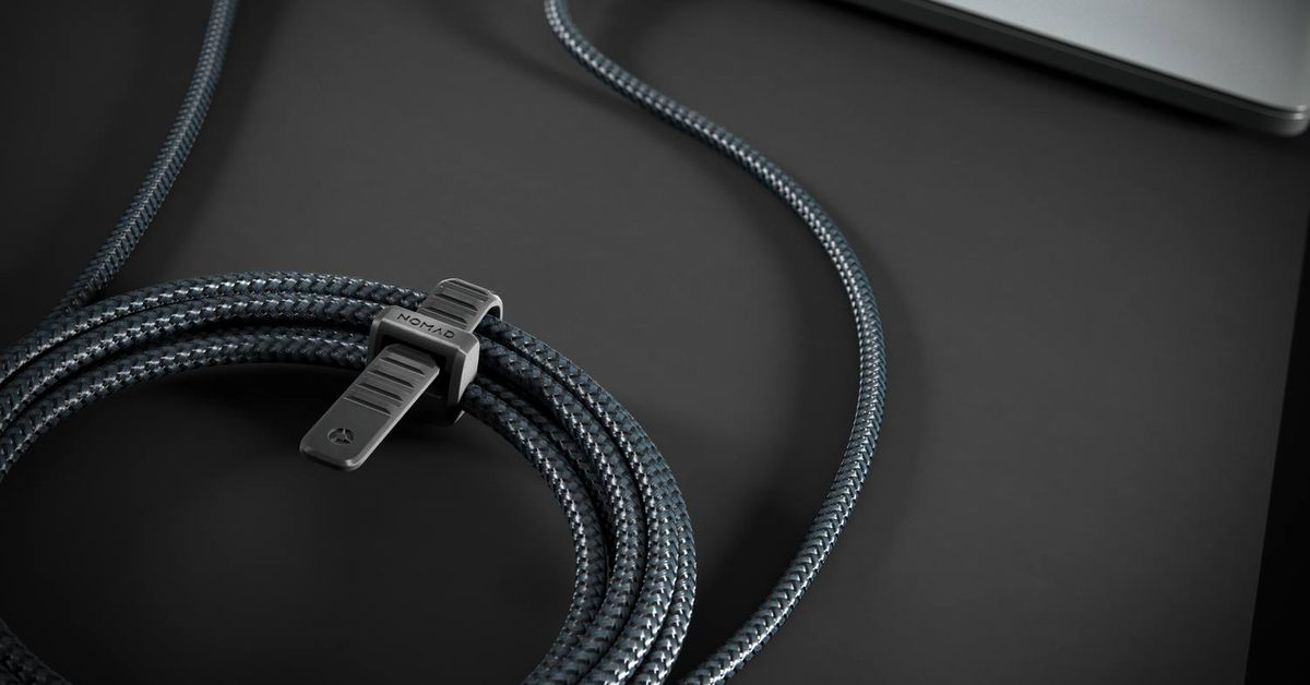 Nomad's latest charging cables are made of actual Kevlar