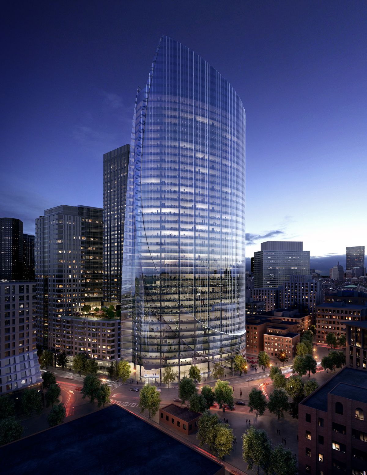 One Congress Boston S Tallest New Office Tower Since 1984 To