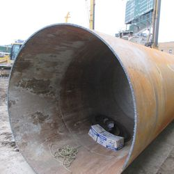 Large pipe on Sheffield