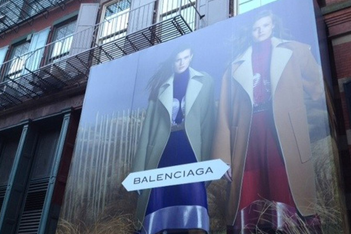df94fcd801 Balenciaga on Mercer Street Should Be Opening in a Few Weeks - Racked NY