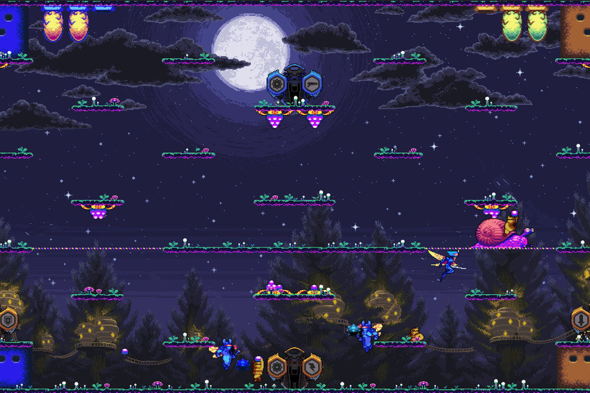Killer Queen Black Nintendo Switch: an arcade game you