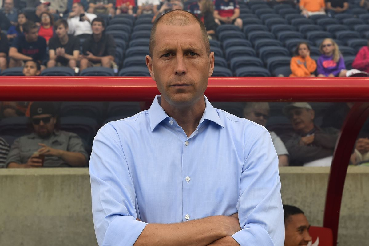 Somebody stole his hard-hat - Gregg Berhalter, head coach and sporting director of the Columbus Crew