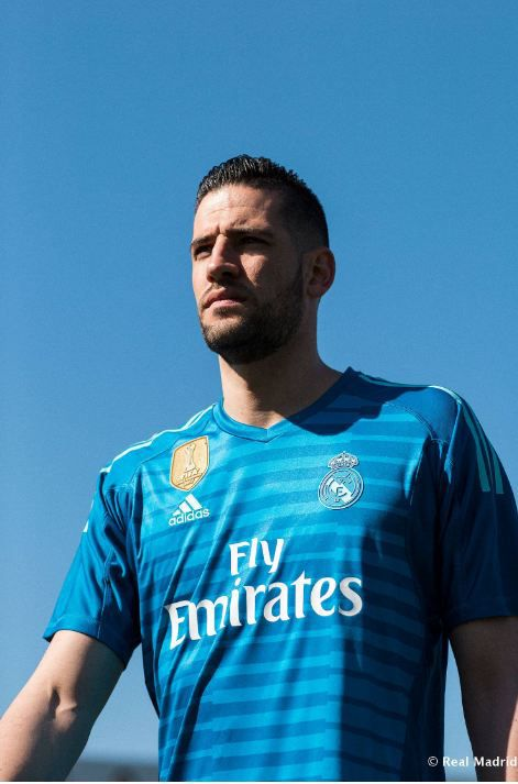 7662a9141 Real Madrid have not revealed their color scheme for the third alternate  kit they tend to use in the Champions League. The goalkeepers will also  wear a ...