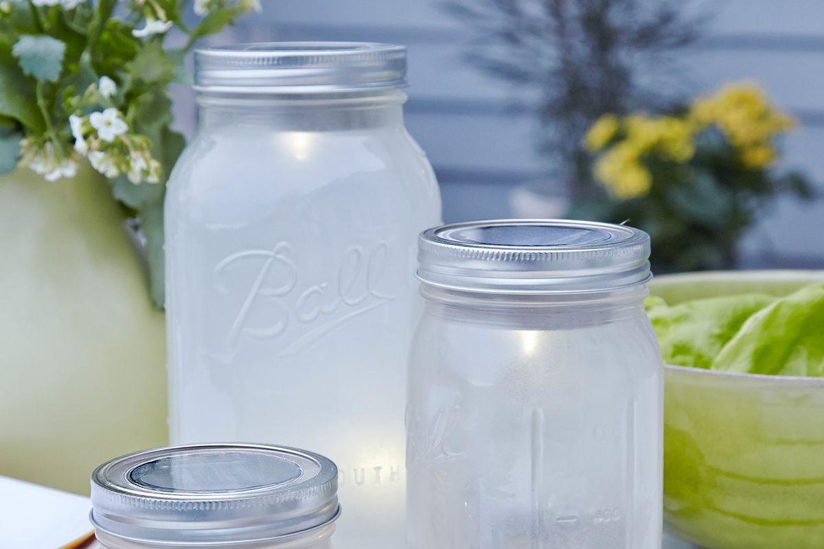 Lid for Mason Jar Lights DIY Make Your Own Jar Lights