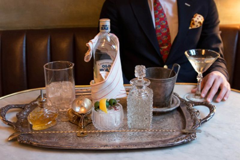 18 Places to Score Tableside Cocktail Service Across America