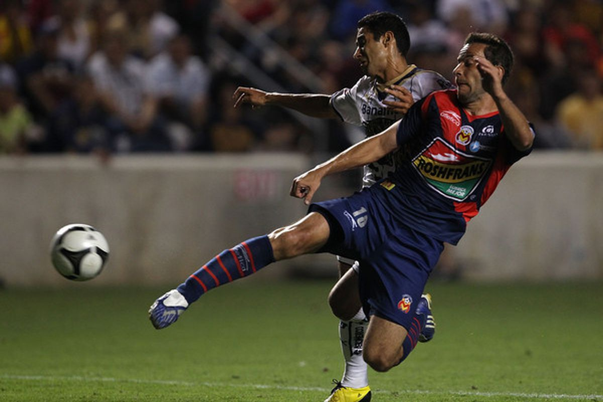 Morelia and Pumas collide on Sunday in a top of the table clash in Mexico. (Photo by Jonathan Daniel/Getty Images)