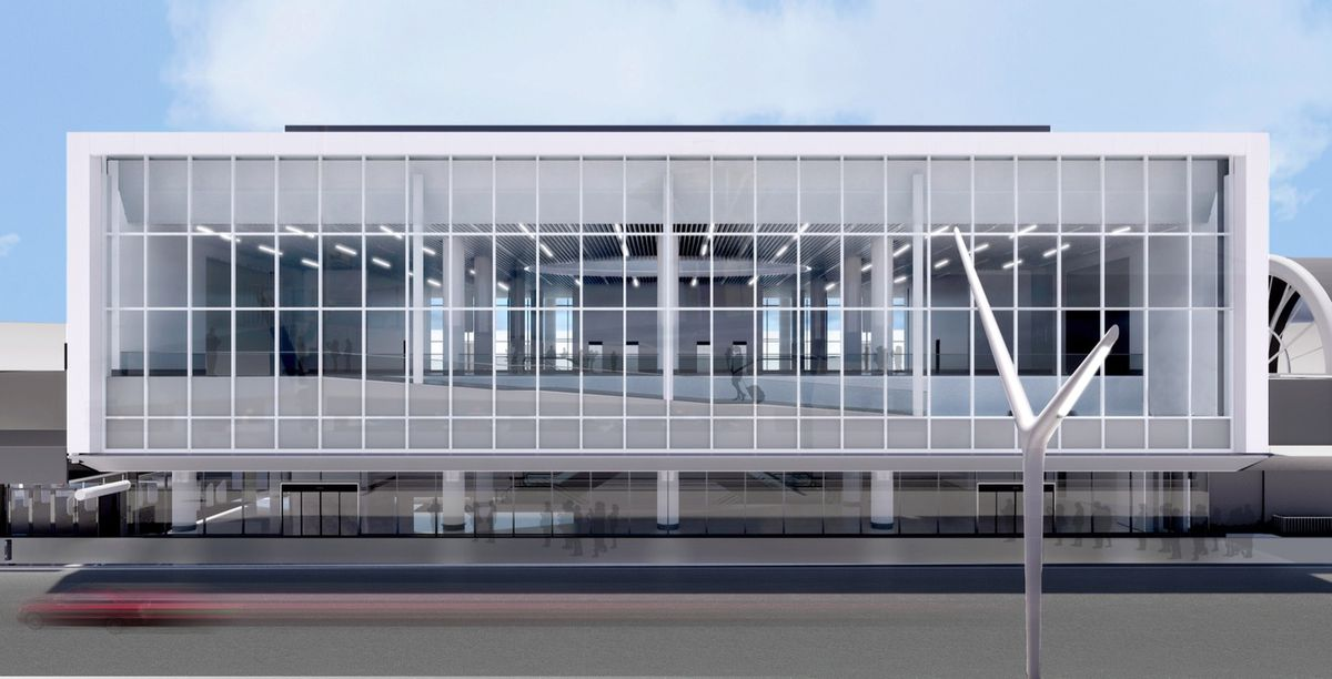 American Airlines departure hall