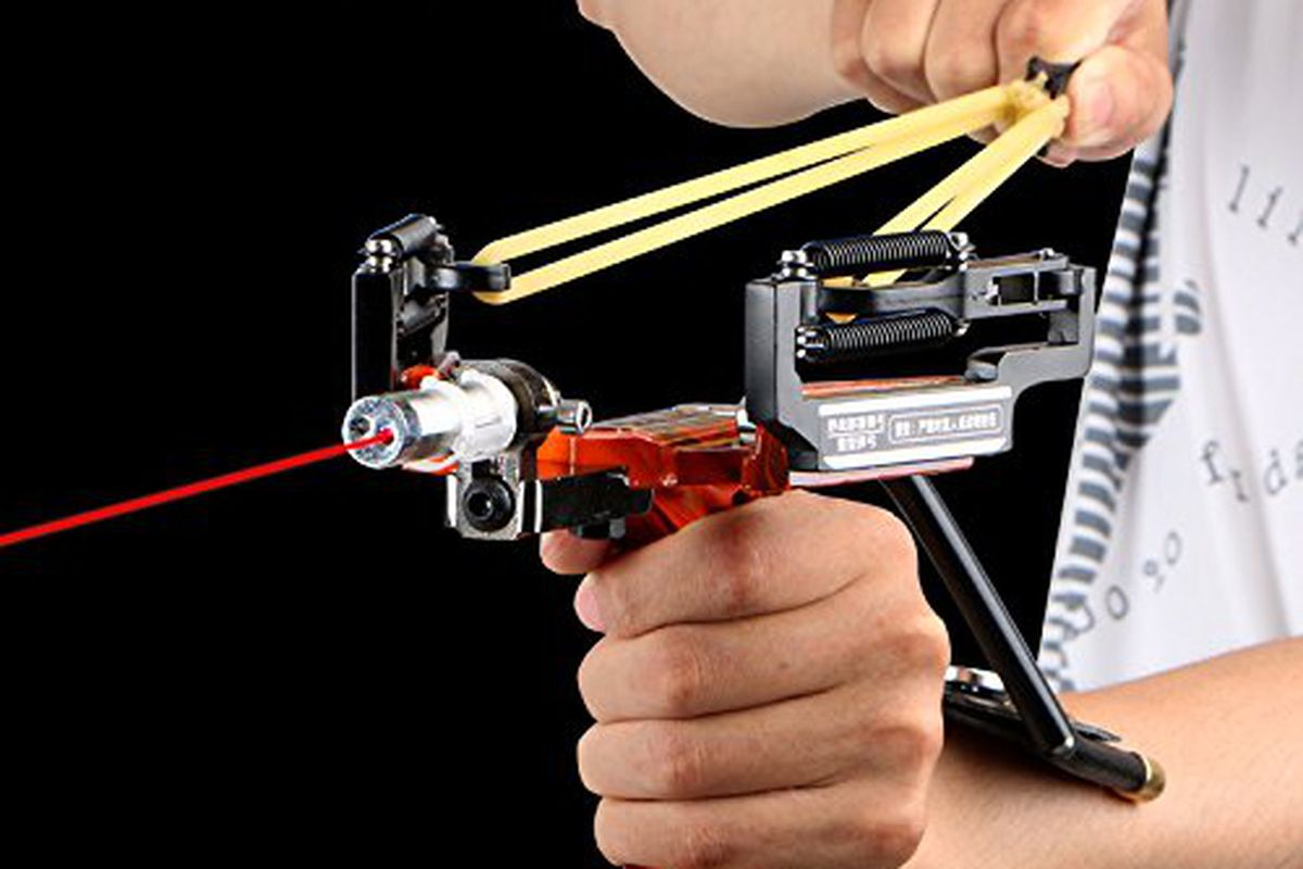 Apparently Slingshots Are Really Cool Now And Nobody Told