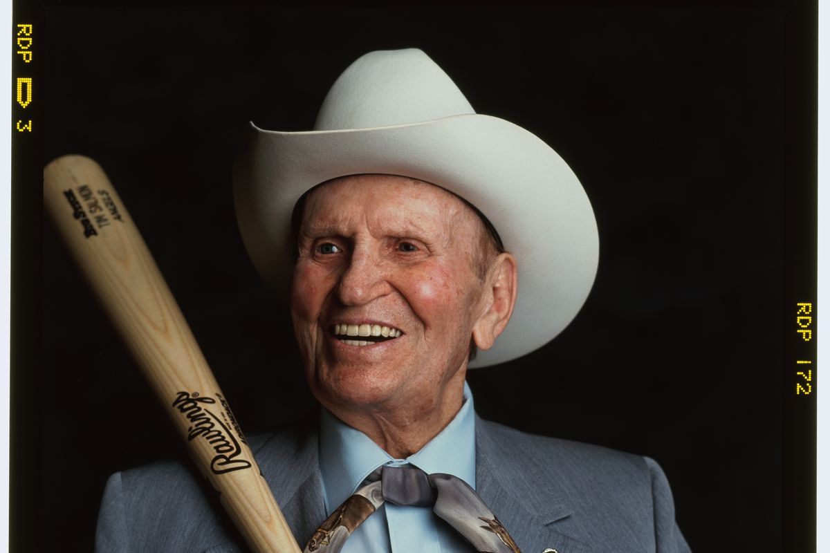California Angels owner Gene Autry...