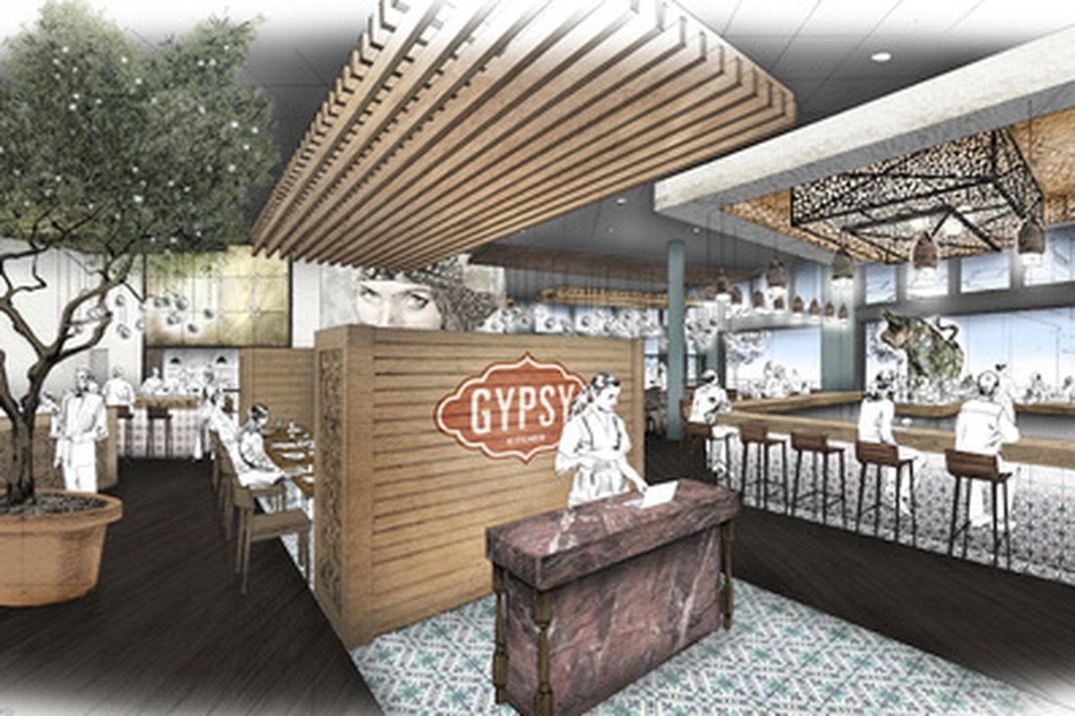 First Look At A Rendering For Gypsy Kitchen Eater Atlanta