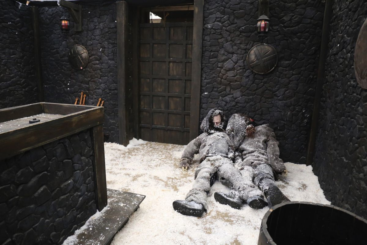The Game Of Thrones Room In Hbo The Escape Hbo