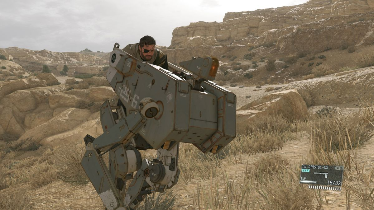 Metal Gear Solid 5: The Phantom Pain feels like the end of