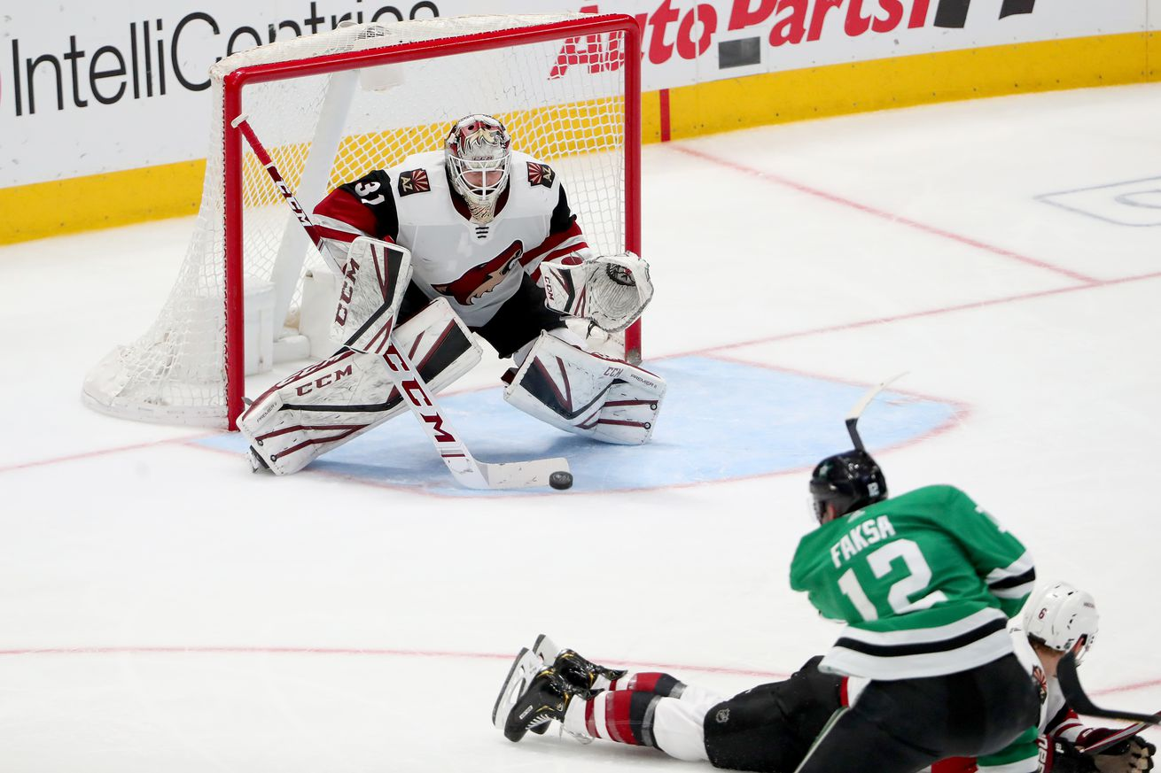 Arizona Coyotes v Dallas Stars