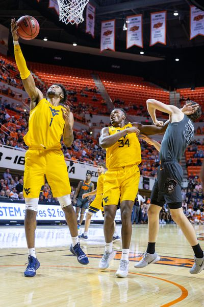 COLLEGE BASKETBALL: JAN 06 West Virginia at Oklahoma State