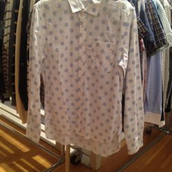 Long sleeved button down, $65
