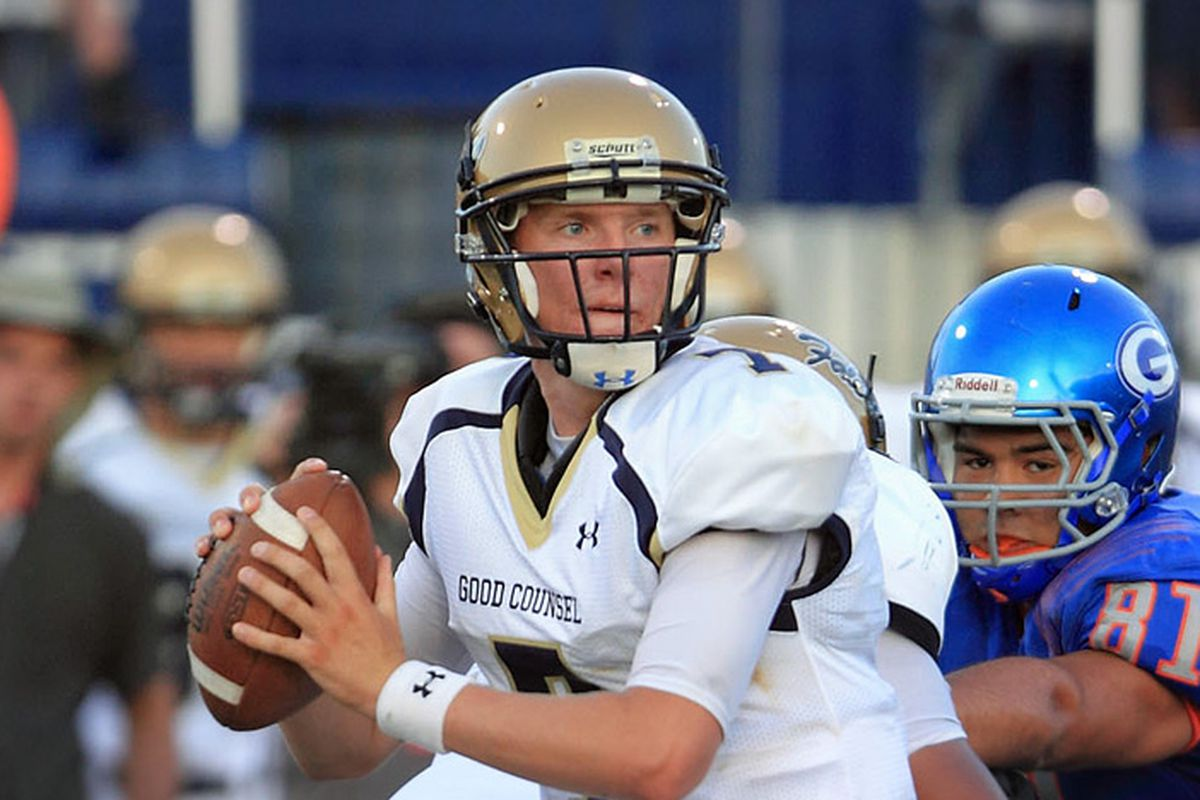 Brendan Marshall joins an already crowded group of quarterbacks at Virginia
