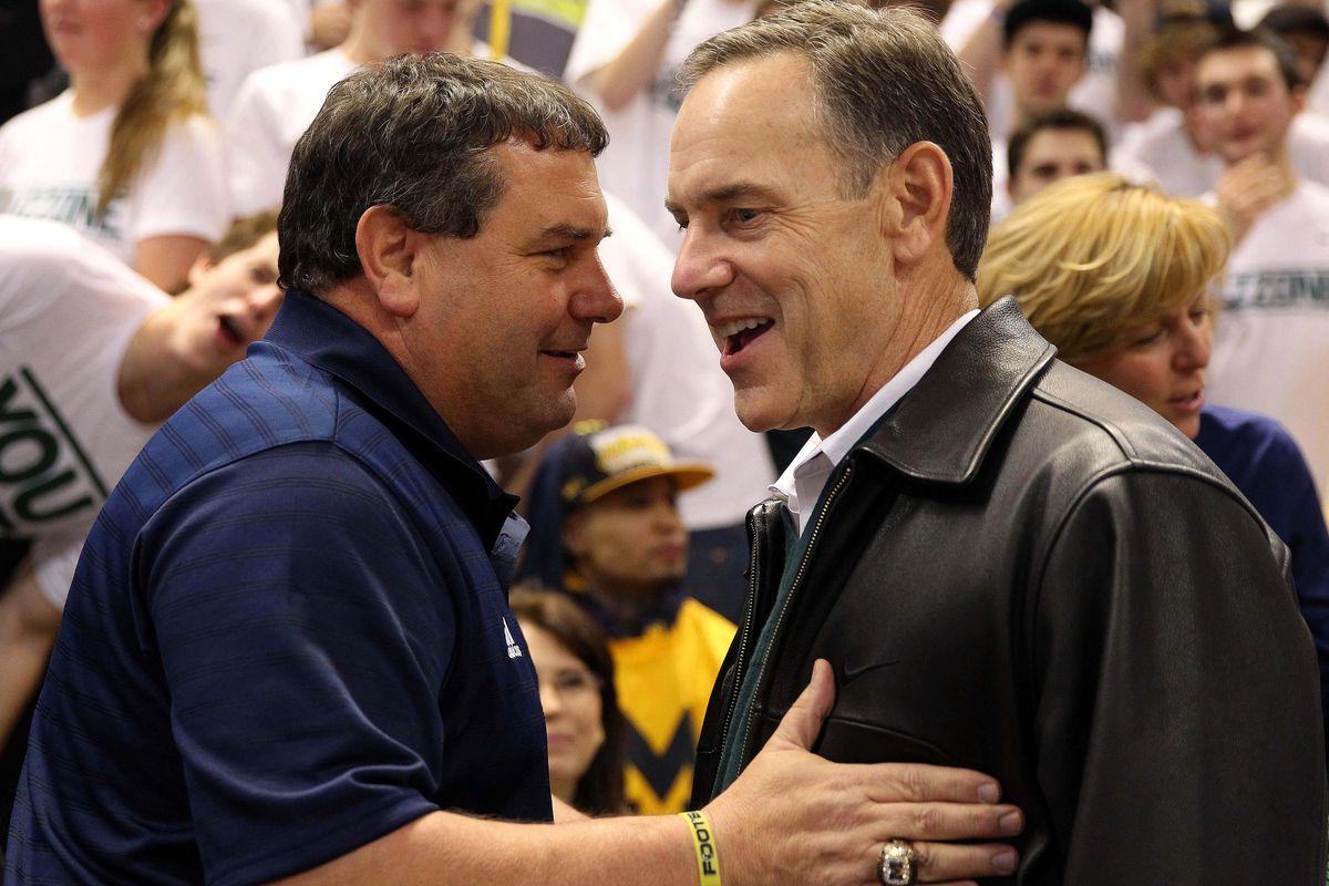 """Seriously Brady, Go ahead and f..."" Coach Dantonio"